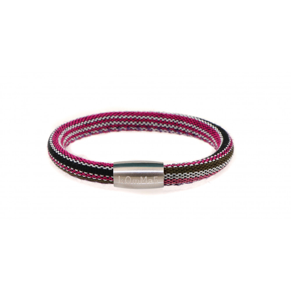 "kOmMa5 Armband ""Sommer"" pink"