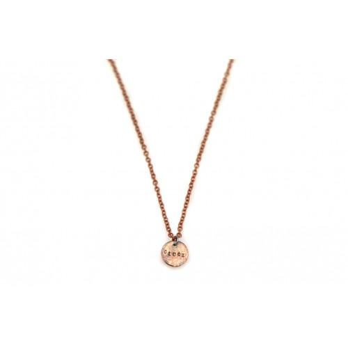 """kOmMa5 necklace """"Glück"""""""