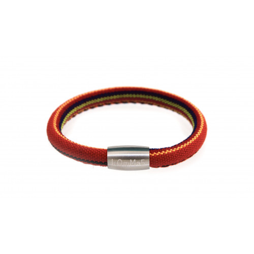 "kOmMa5 Armband ""Sommer"" orange"