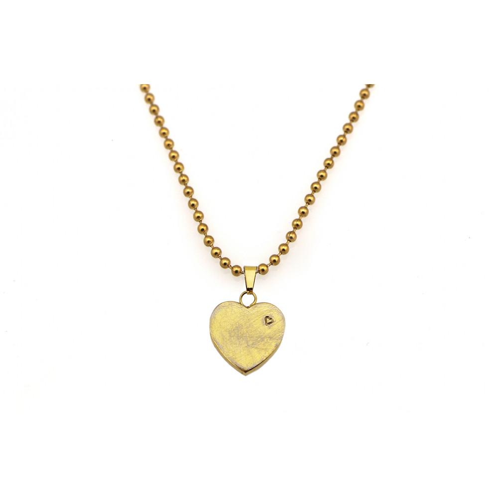 kOmMa5 collana cuore oro ♡