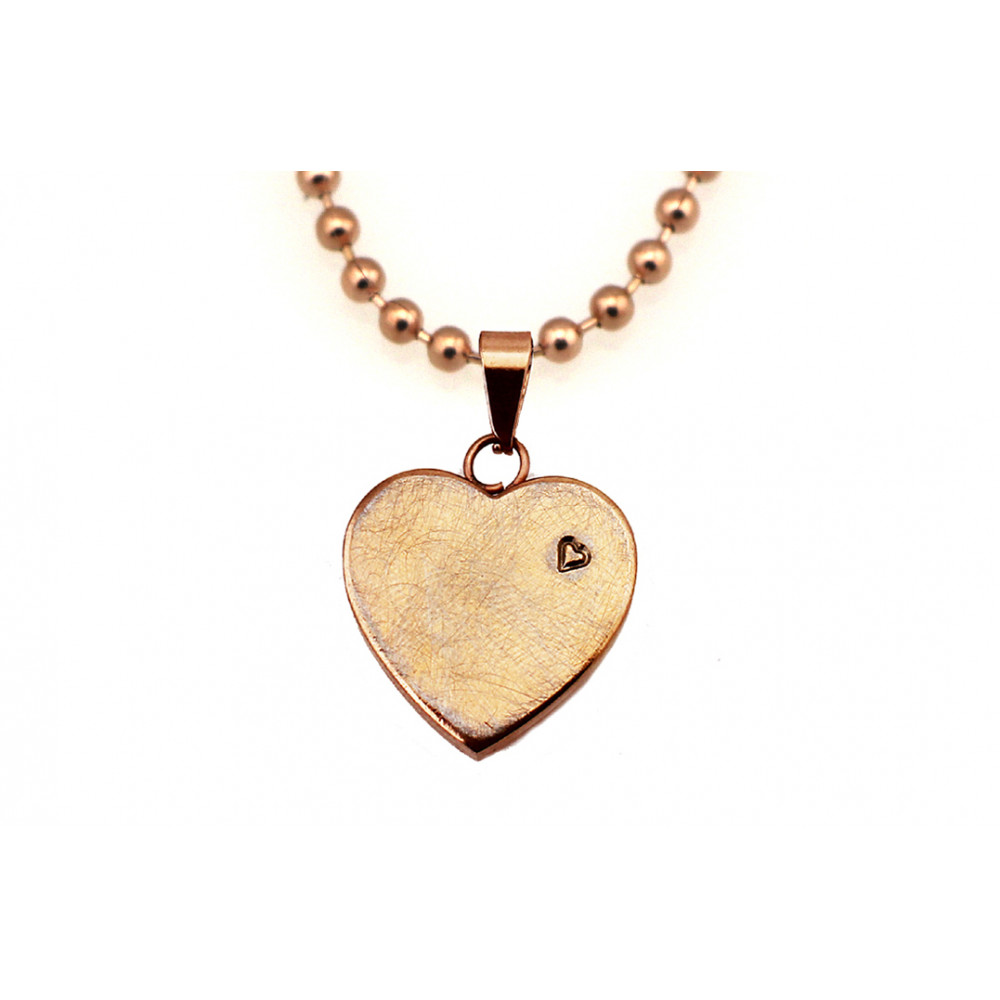 kOmMa5 Halskette Herz rosé ♡