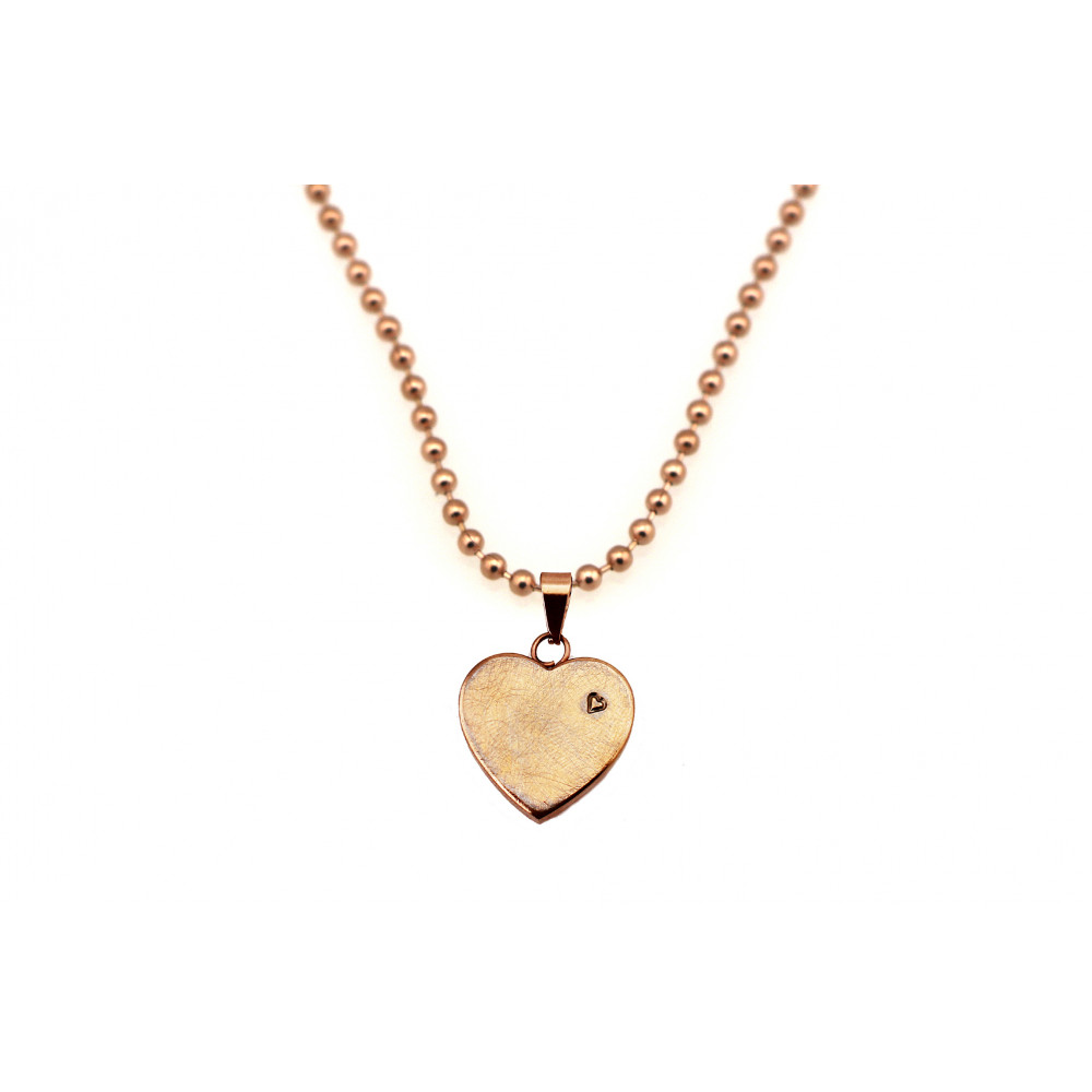 kOmMa5 necklace heart rose ♡