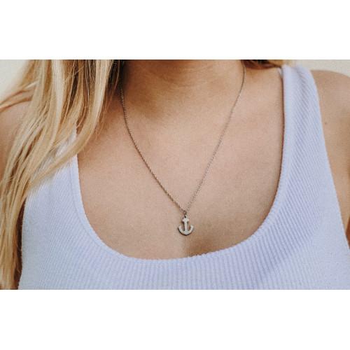 kOmMa5 Halskette Anker