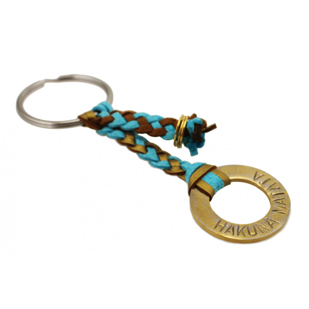 "kOmMa5 key ring ""Hakuna..."