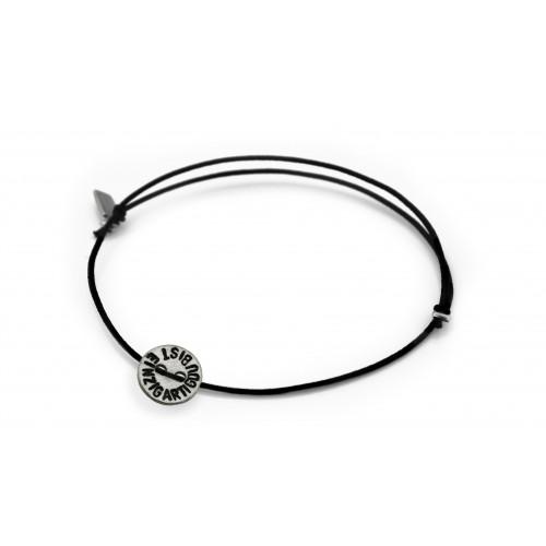 """kOmMa5 bracelet """"DU BIST..."""