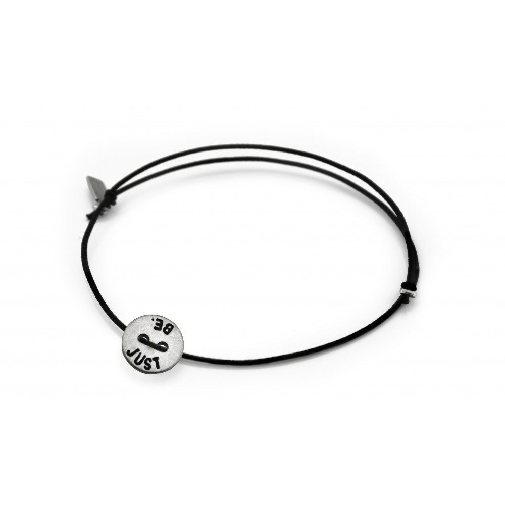 "kOmMa5 bracciale ""JUST BE."""