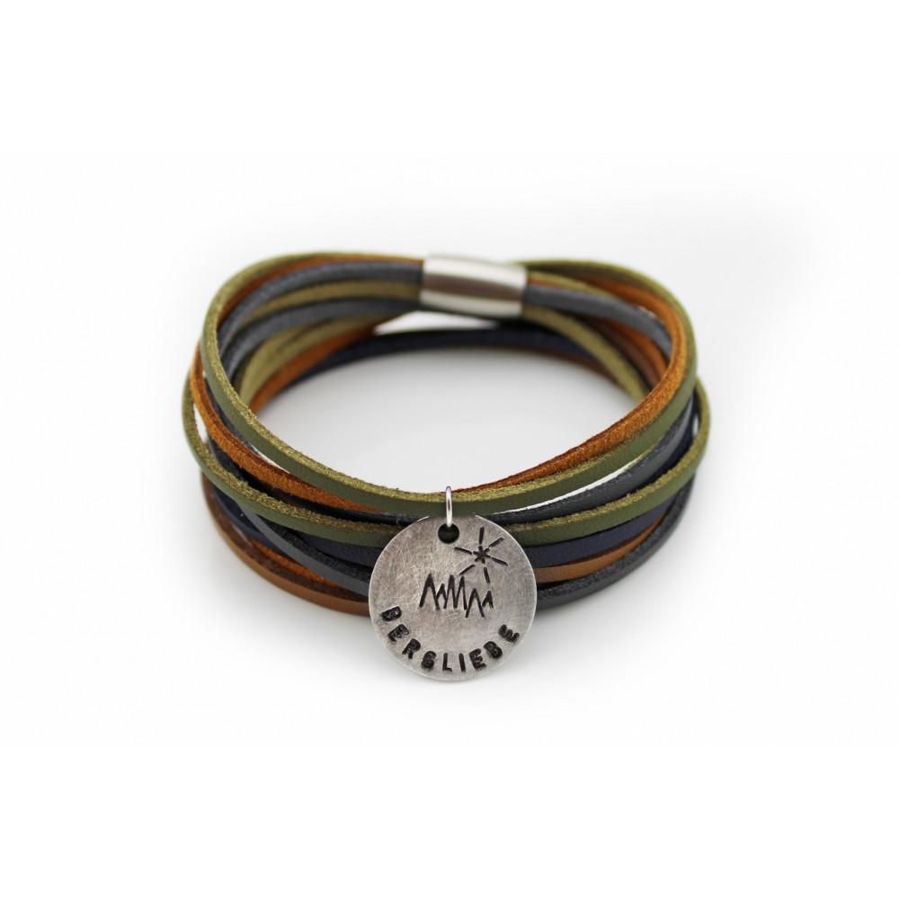 "kOmMa5 bracciale ""Bergliebe"""