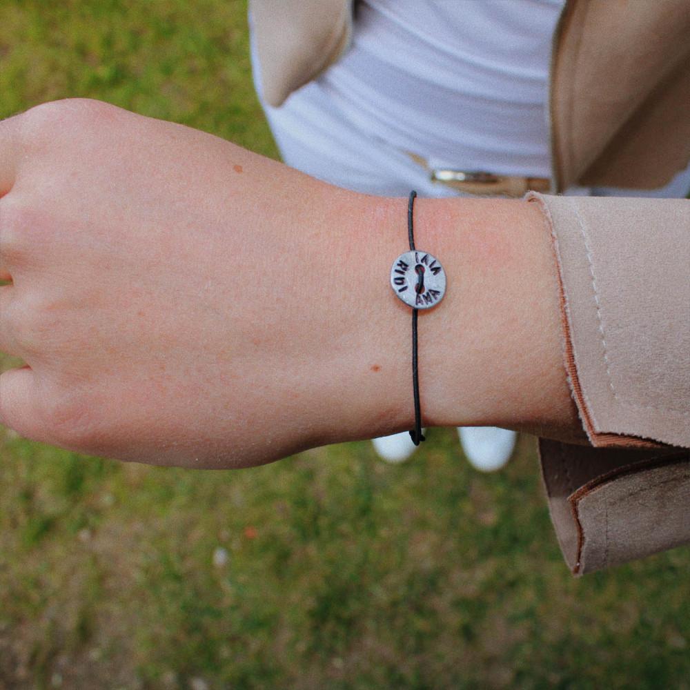 """kOmMa5 bracciale """"AMA VIVI..."""