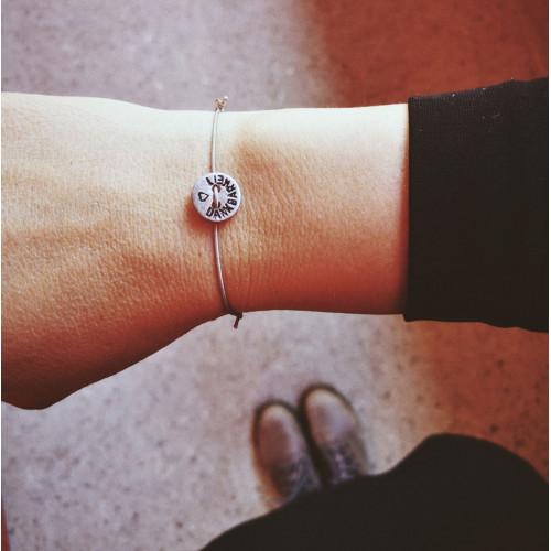 """kOmMa5 Armband """"DANKBARKEIT♥"""""""
