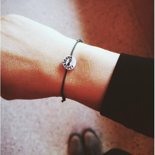 "kOmMa5 Armband ""WANDERLUST"""