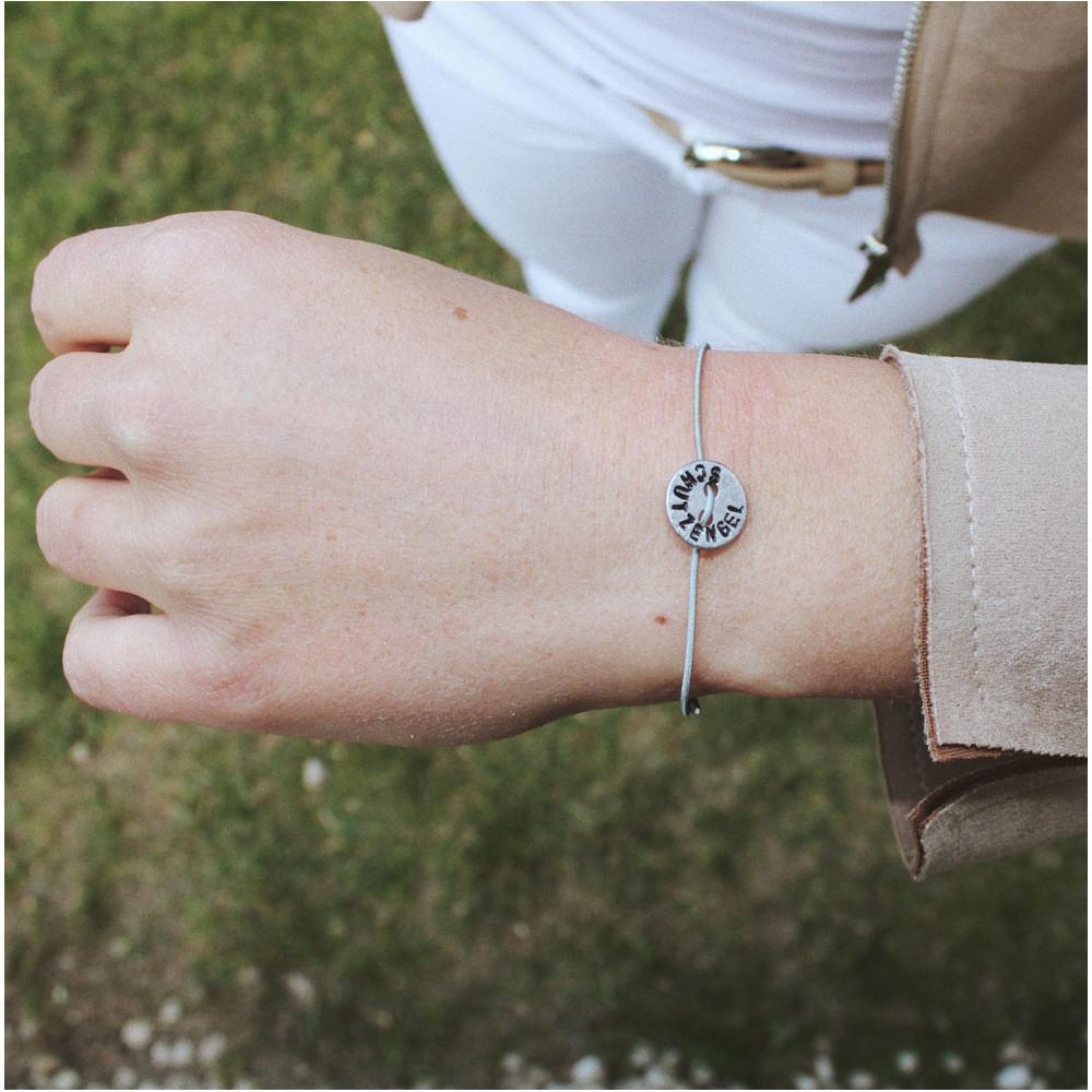 """kOmMa5 bracelet """"SCHUTZENGEL"""""""