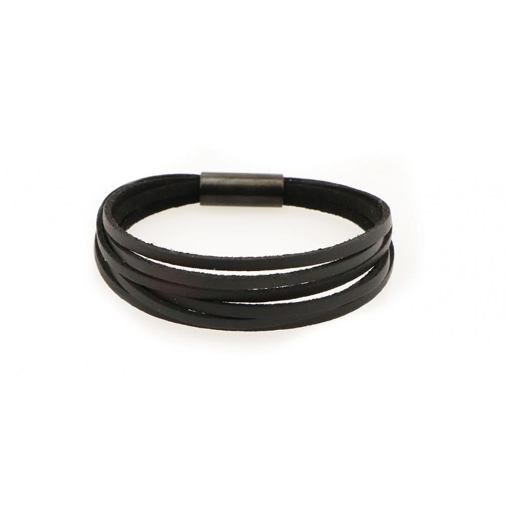 "kOmMa5 bracelet ""Black-e"""