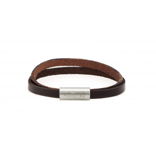 "kOmMa5 bracelet ""Dark brown..."