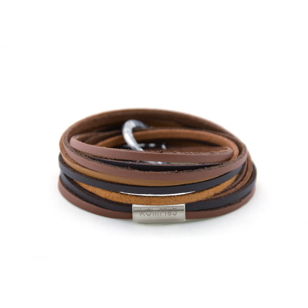 "kOmMa5 bracelet ""Brownie2"""