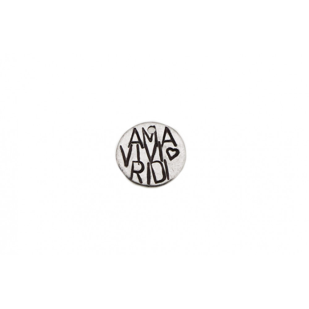 """kOmMa5 Plaque 13 """"AMA VIVI..."""