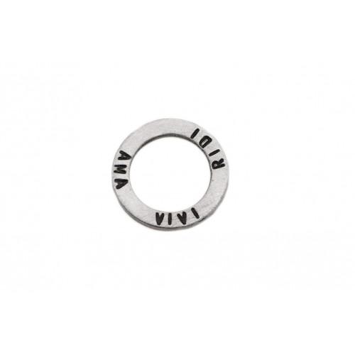 "kOmMa5 Ring 20 ""AMA VIVI RIDI"""
