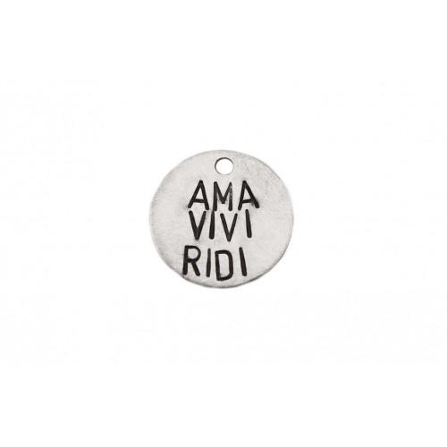 """kOmMa5 Plaque 20 """"AMA VIVI..."""
