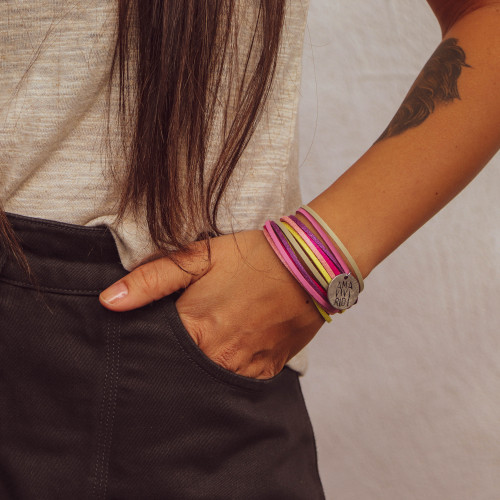 "kOmMa5 bracelet ""Lisalotta"""