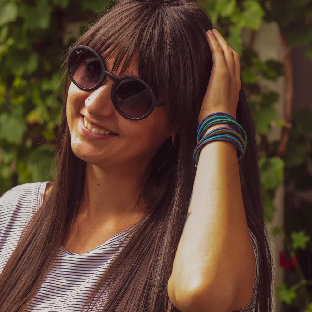 "kOmMa5 Armband ""Ronja"""