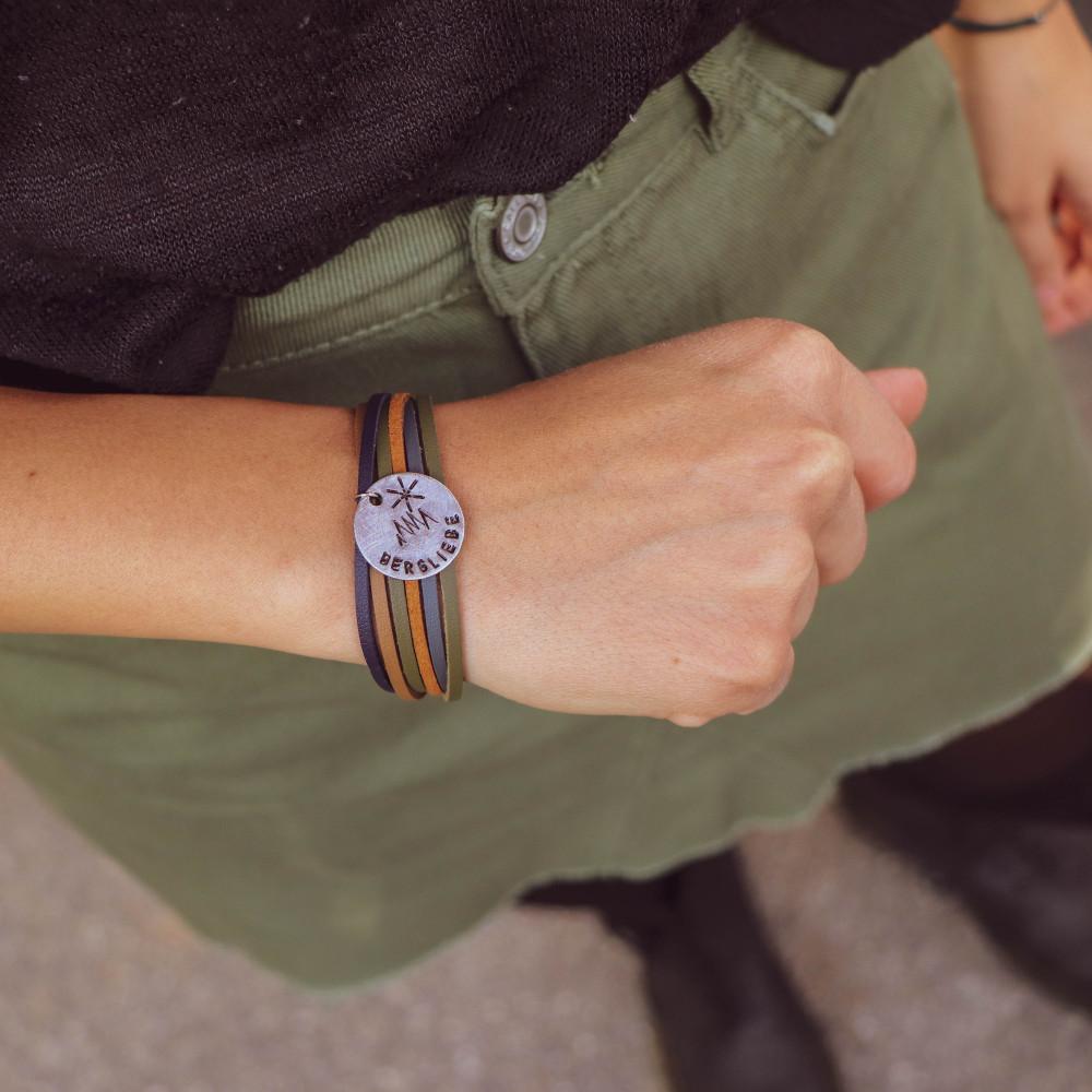 "kOmMa5 Armband ""Bergliebe-e+"""
