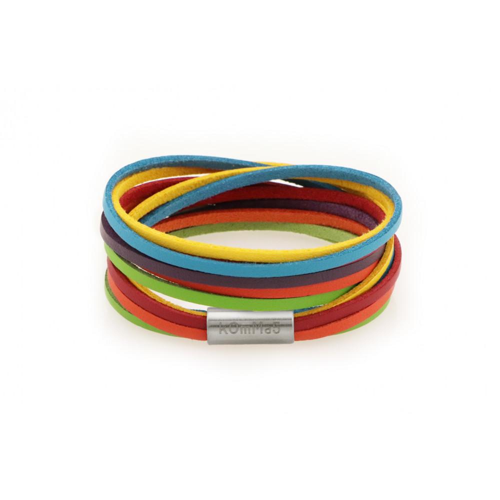 """kOmMa5 Armband """"Regenbogen"""""""