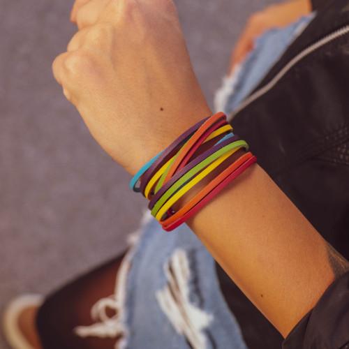 """kOmMa5 bracelet """"Regenbogen"""""""