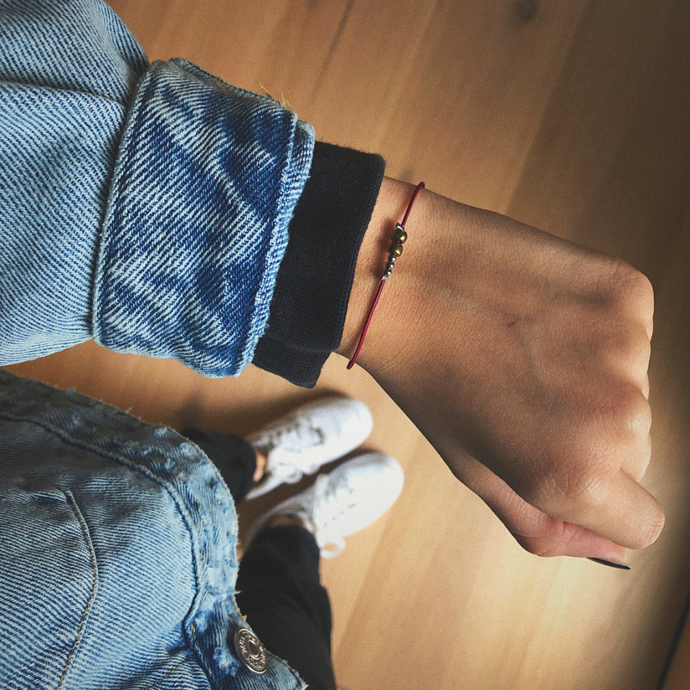 "kOmMa5 bracelet ""Amsterdam"""