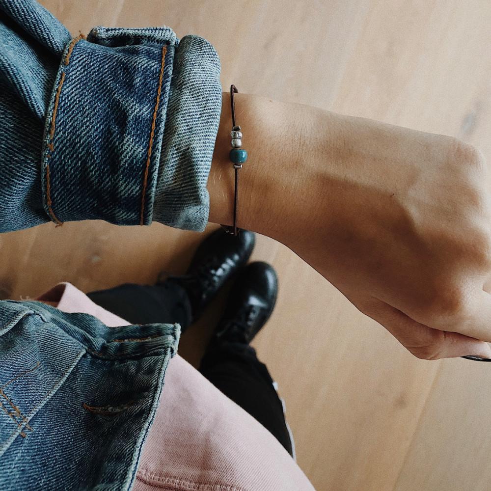 "kOmMa5 Armband ""Havana"""