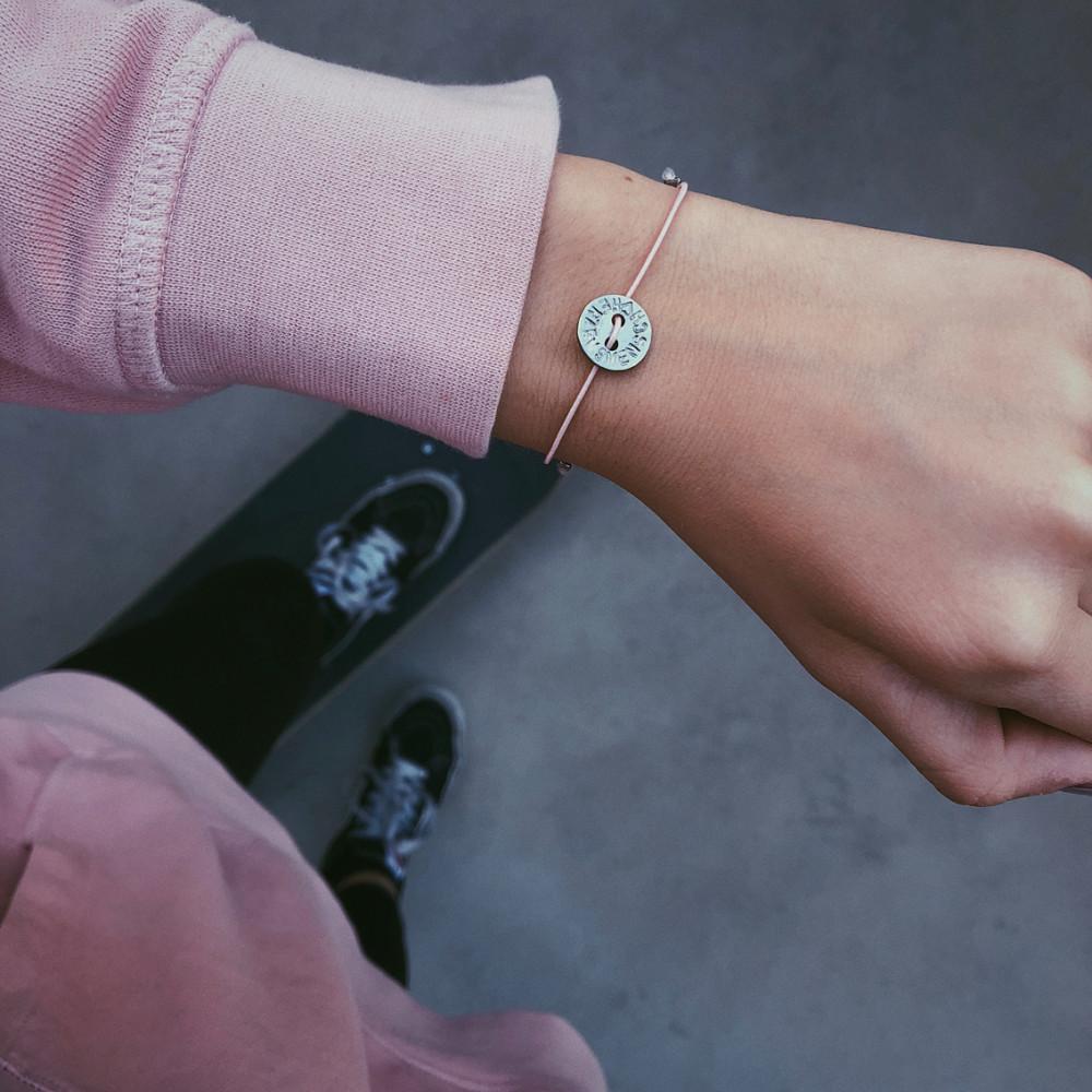 """kOmMa5 Armband """"Herzensmensch"""""""