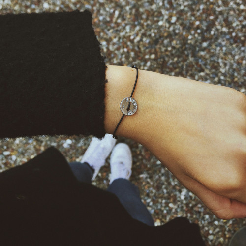 "kOmMa5 bracelet ""Verbunden"""