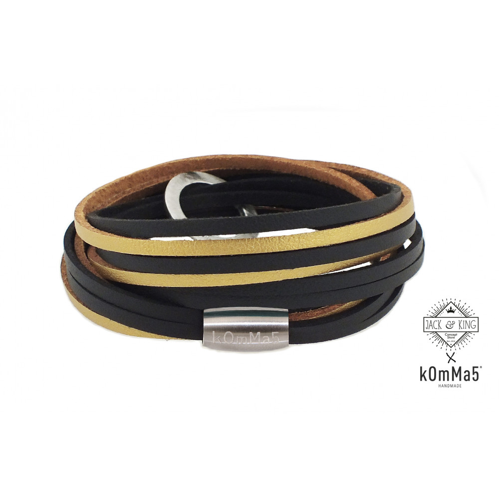 """kOmMa5 bracciale """"Jack&King"""""""
