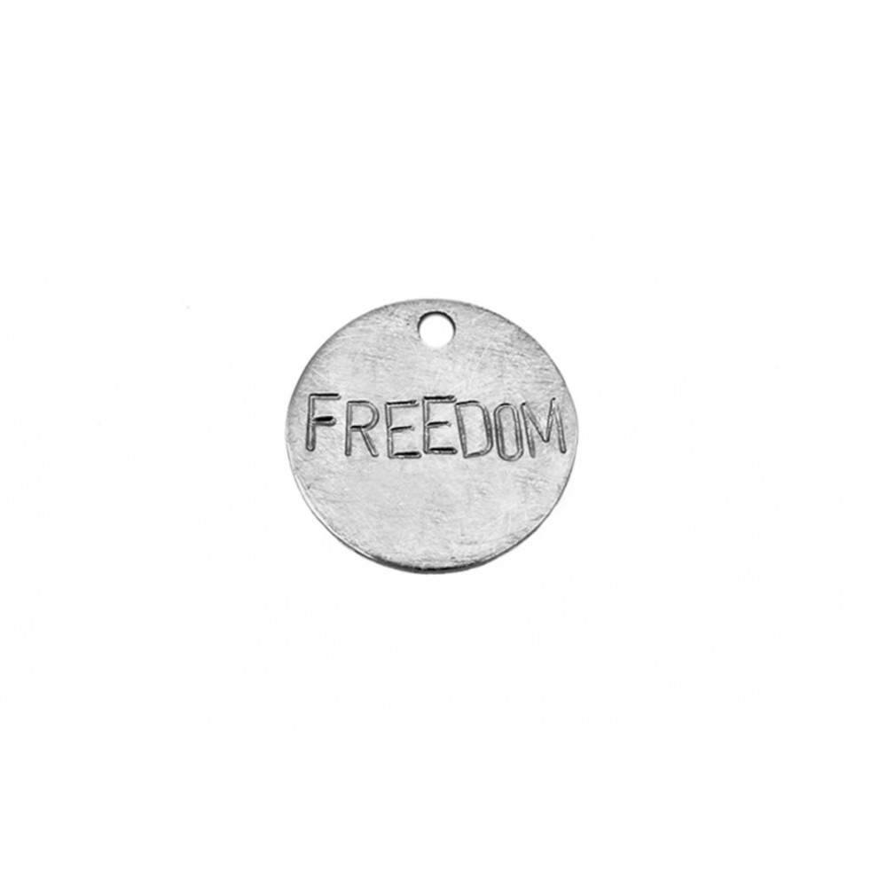 "kOmMa5 Plaque 20 ""FREEDOM"""