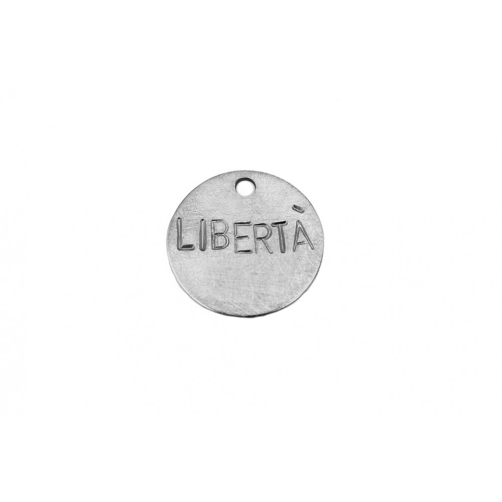 "kOmMa5 Plakette 20 ""LIBERTÀ"""