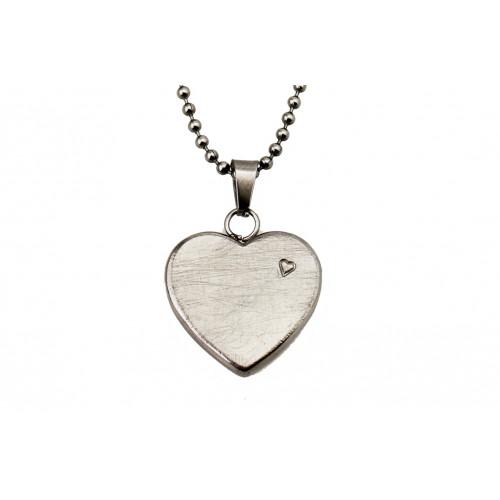 kOmMa5 Halskette Herz silber ♡