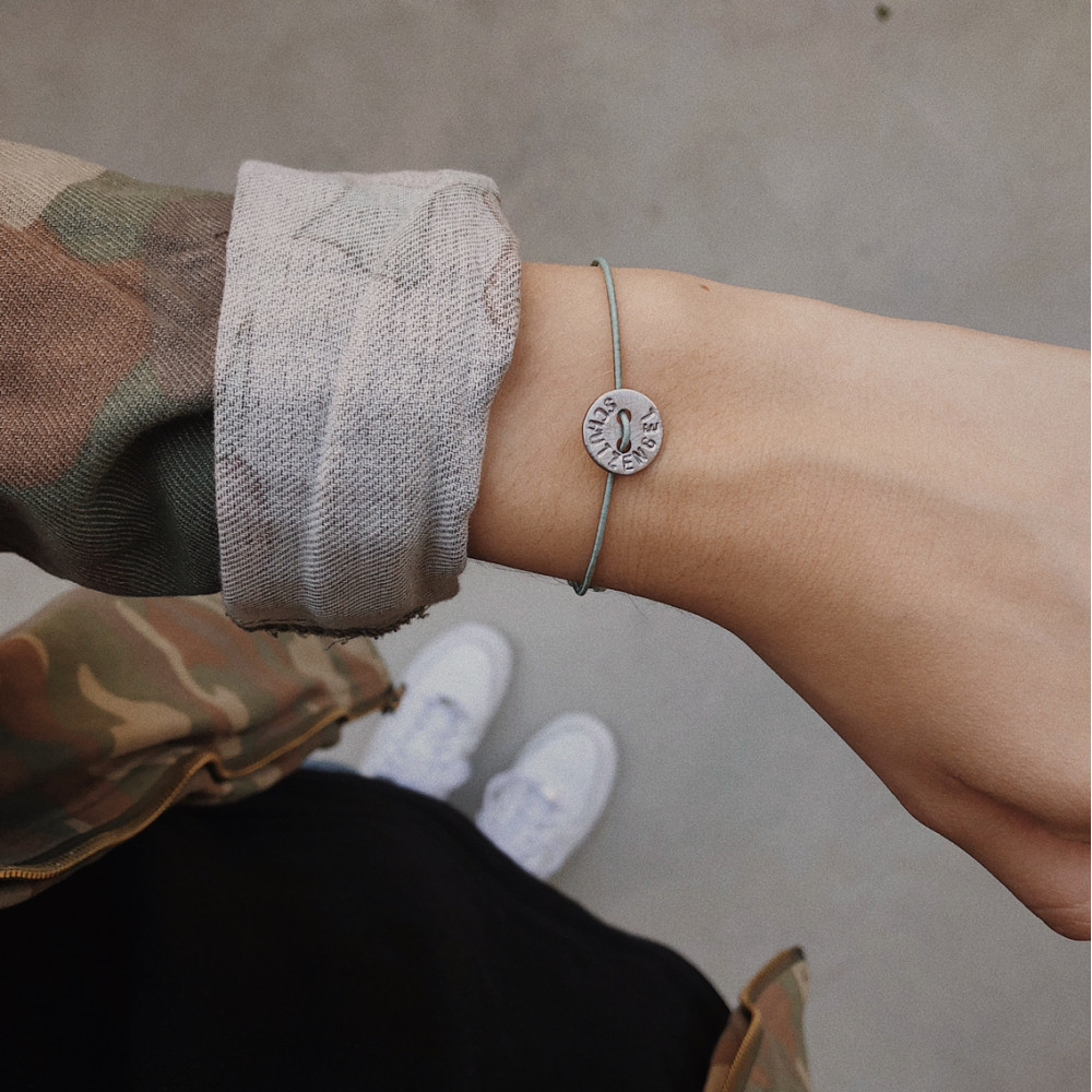 "kOmMa5 Armband ""Schutzengel"""