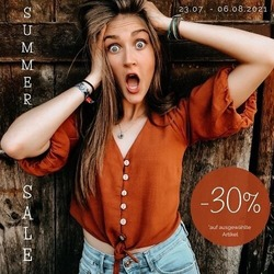 ☀ summer sale ☀⠀ vom 23.07. - 06.08.2021 ⏳⠀ -30% Rabatt auf ausgewählte Artikel in unserem Onlineshop und bei uns im Showroom in Naturns 🎉⠀ .⠀ .⠀ #wemadeyourbracelet #komma5 #naturns #madewithlove #handmade #sale #summersale #summertime #hurray #bracelet #ausverkauf